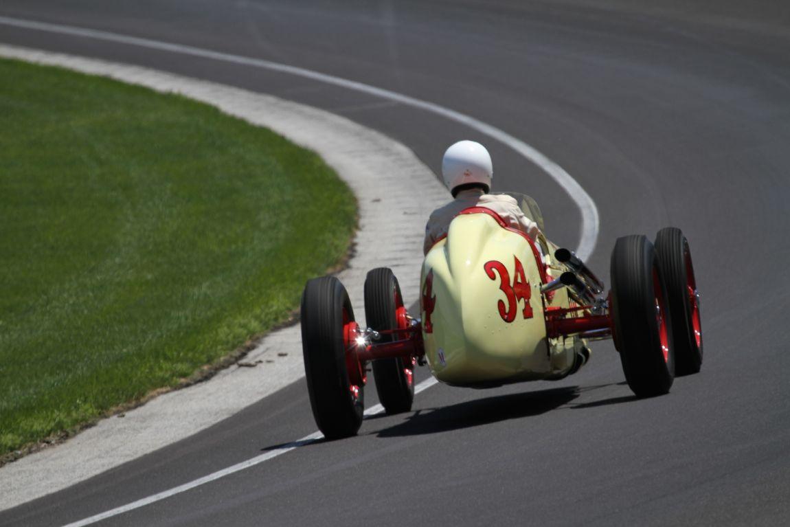 Pat Kennedy, 48 Kurtis Kraft Indy Roadster