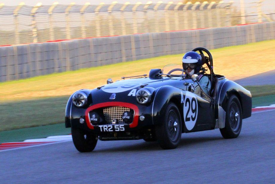 David Nelson, 1955 Triumph TR2