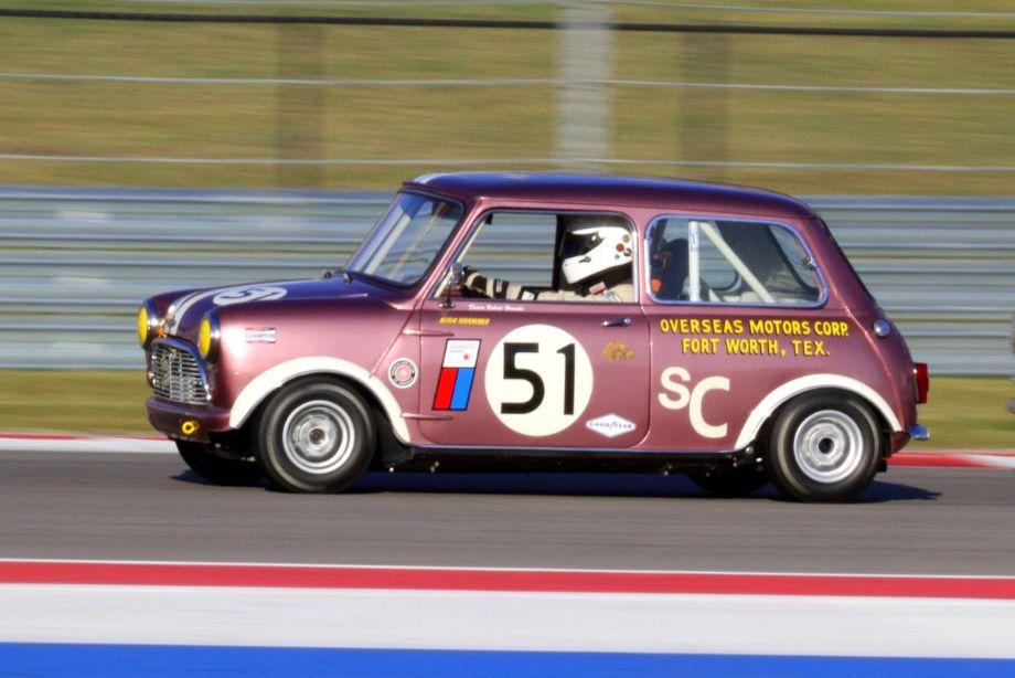 Robert Hoemke, 1965 Mini Cooper