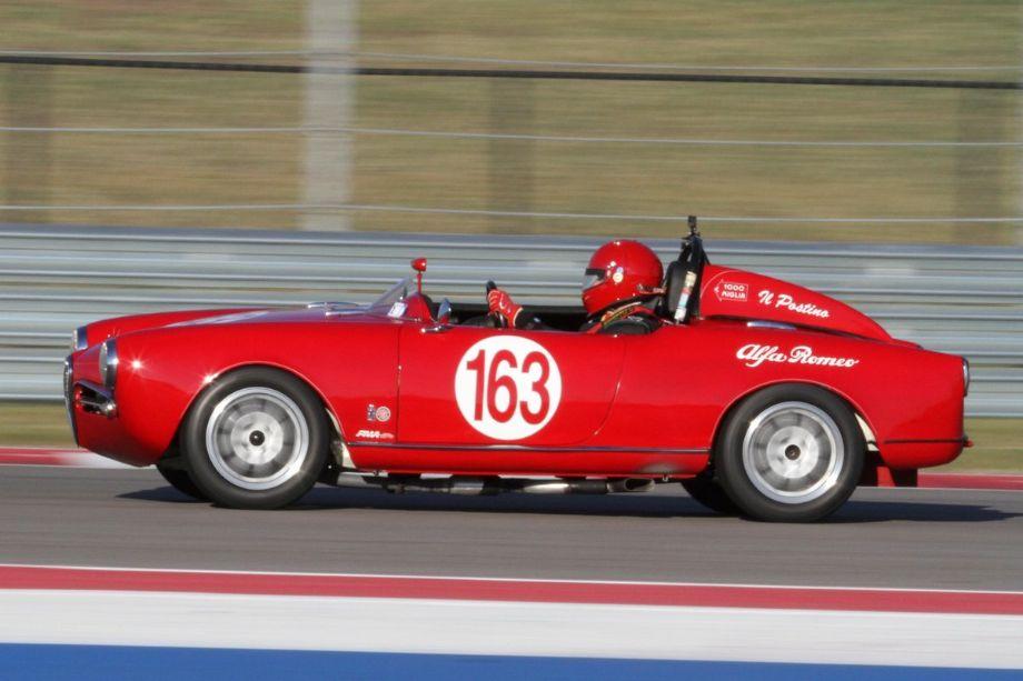 Michael Vogel's 1956 Alfa Romeo Giulietta Spider