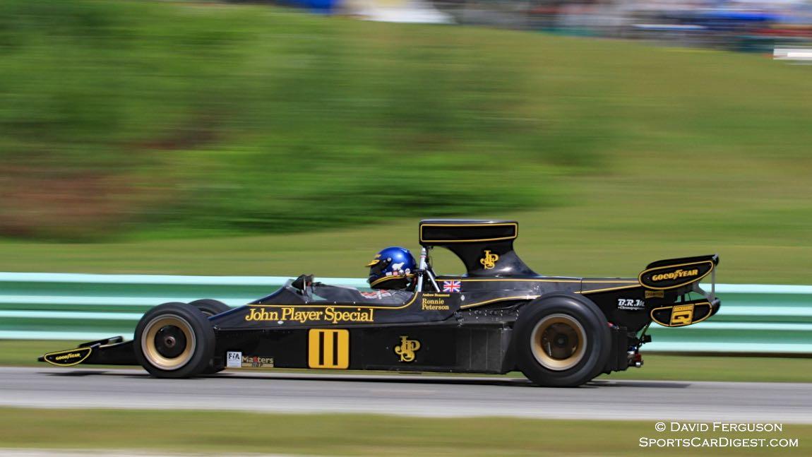Andrew Beaumont, 74 Lotus 76
