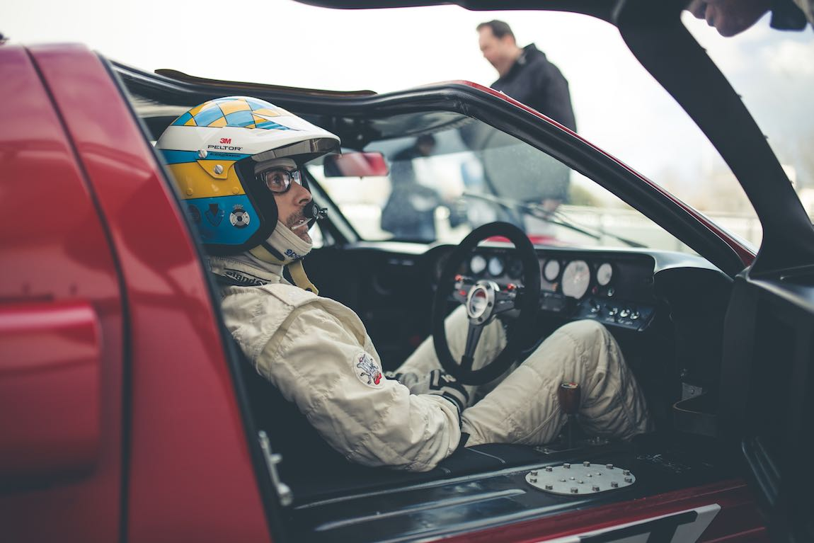 Kenny Brack in Ford GT40 (photo: Tom Shaxson | Goodwood Road and Racing)