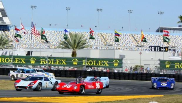 50th Anniversary celebration at the 2012 Daytona 24 Hours