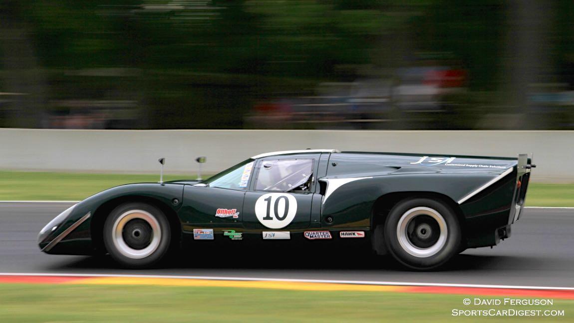 James Cullen, 68/10 Lola T70 Mk lllb