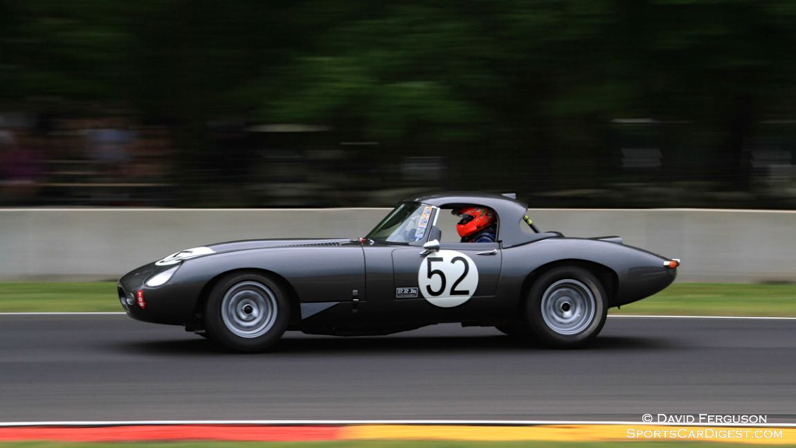 Russell Gee, 63 Jaguar XKE Lightweight Coupe