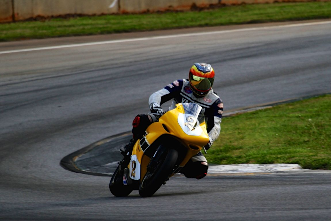 Historic Moto GP entertained with some fast and well driven motorcycles.