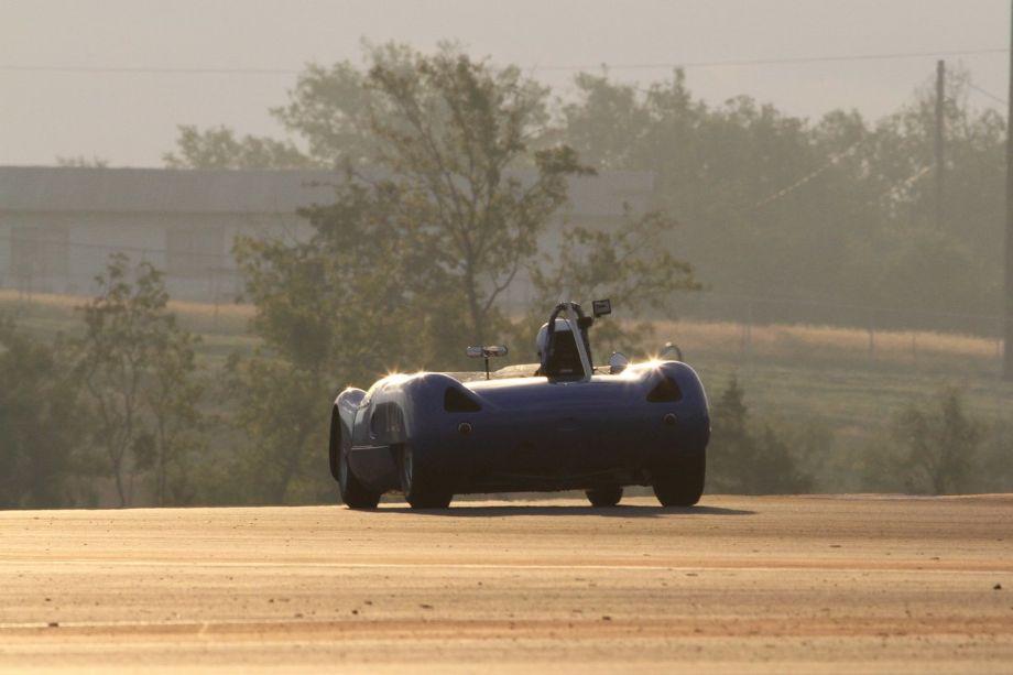 Michael Kaleel, 1964 Lotus 23B in turn 5.