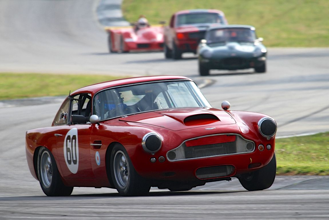 Patrick Bean, 59 Aston Martin DB4