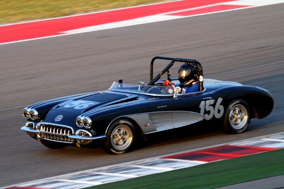 Ed Sevadjian, 58 Corvette