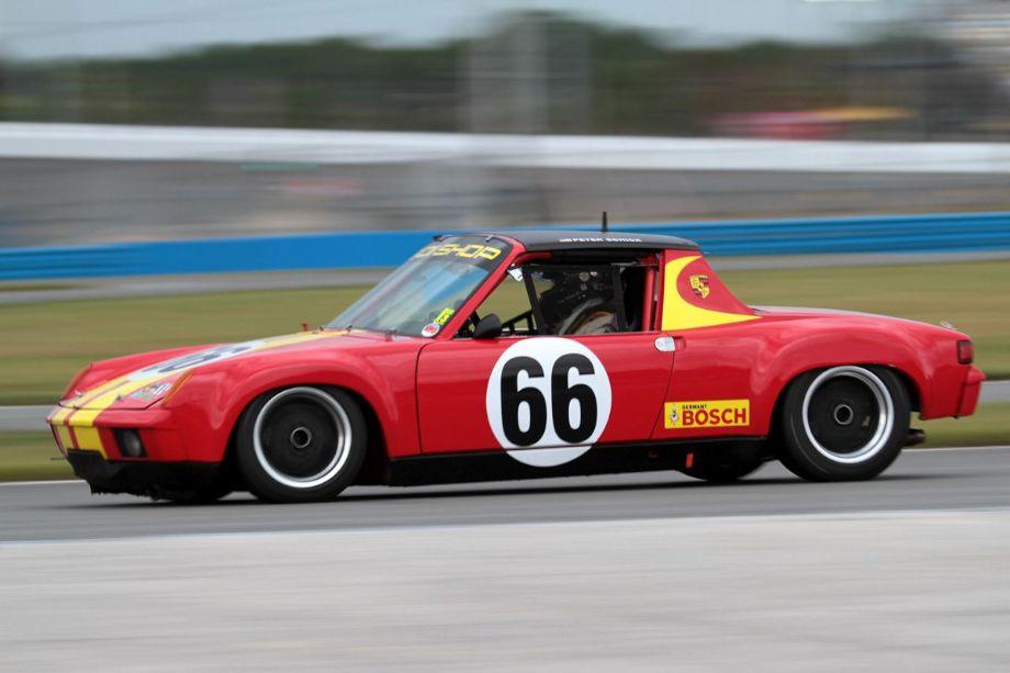 Peter Schick, 1970 Porsche 914/6