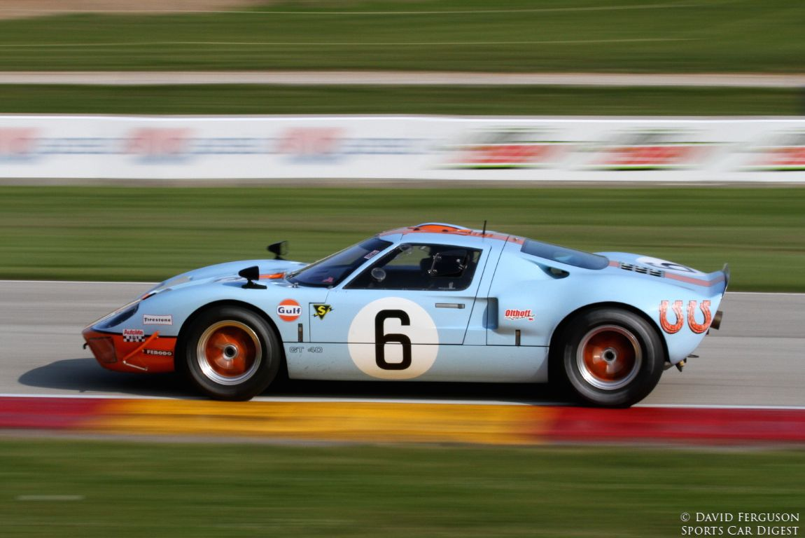 Mac McCombs, 68 GT40