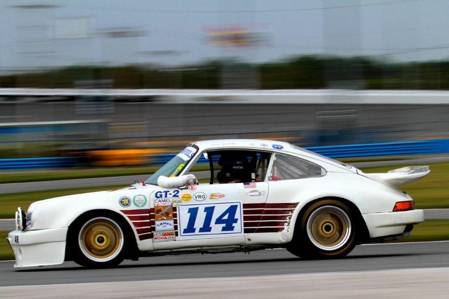 Jim Scott, 1973 Porsche 911 IROC