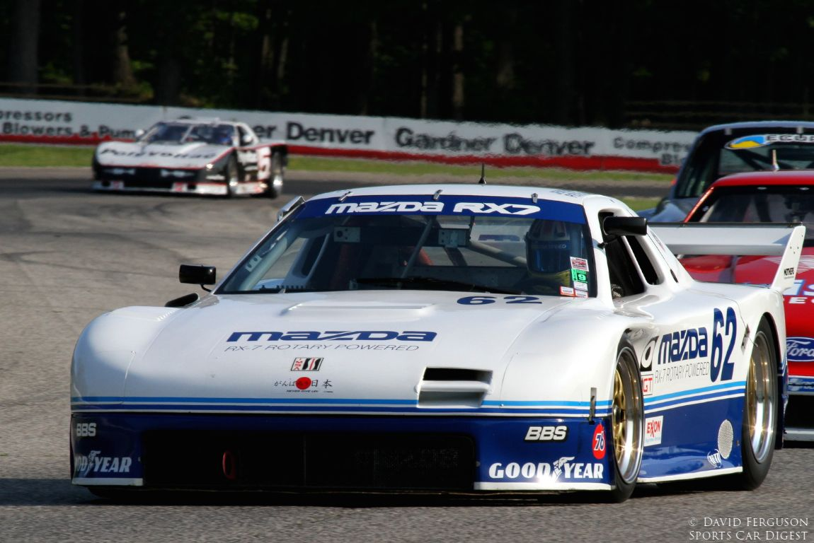 Jeremy Barnes, 91 Mazda RX7