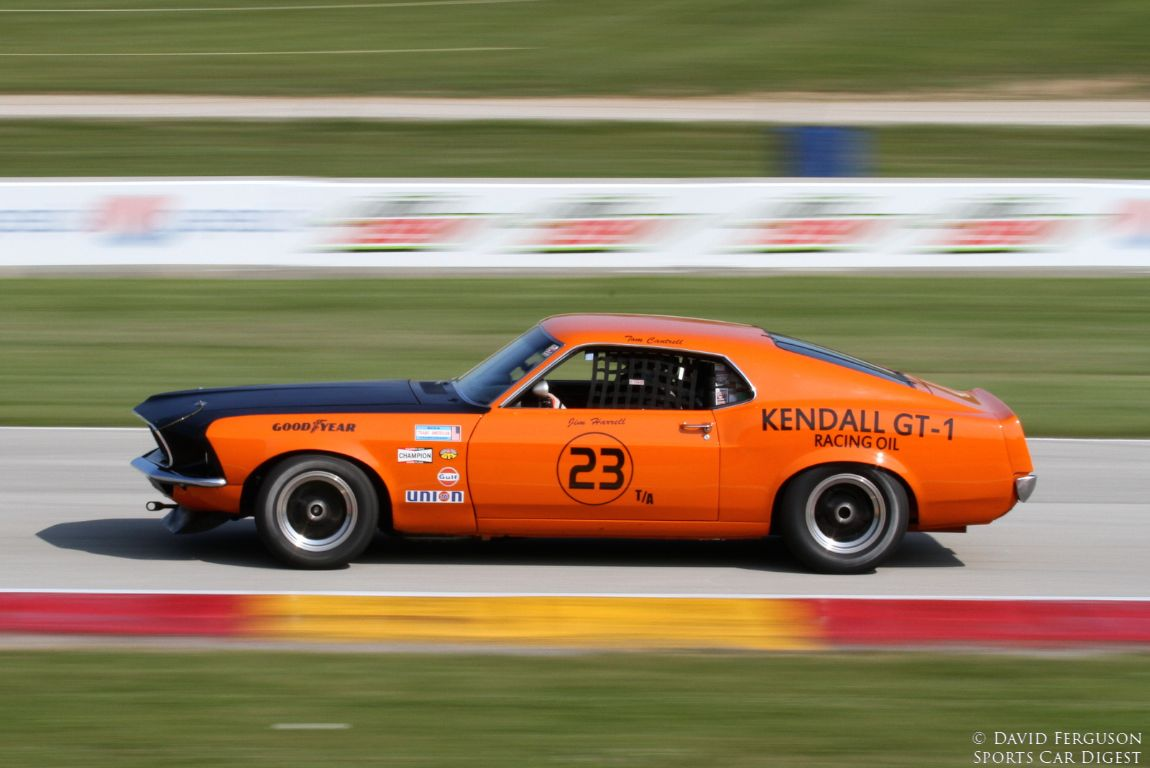 Tom Cantrell, 69 Ford Mustang