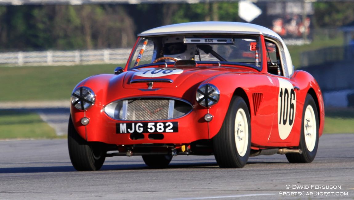 Jim Gregg, 67 Austin Healey 100/6