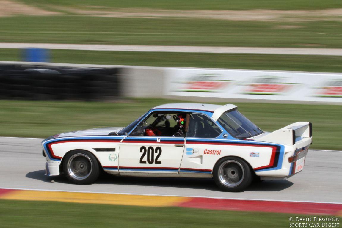 C H DeHaan, 73 BMW 3.5 CSL