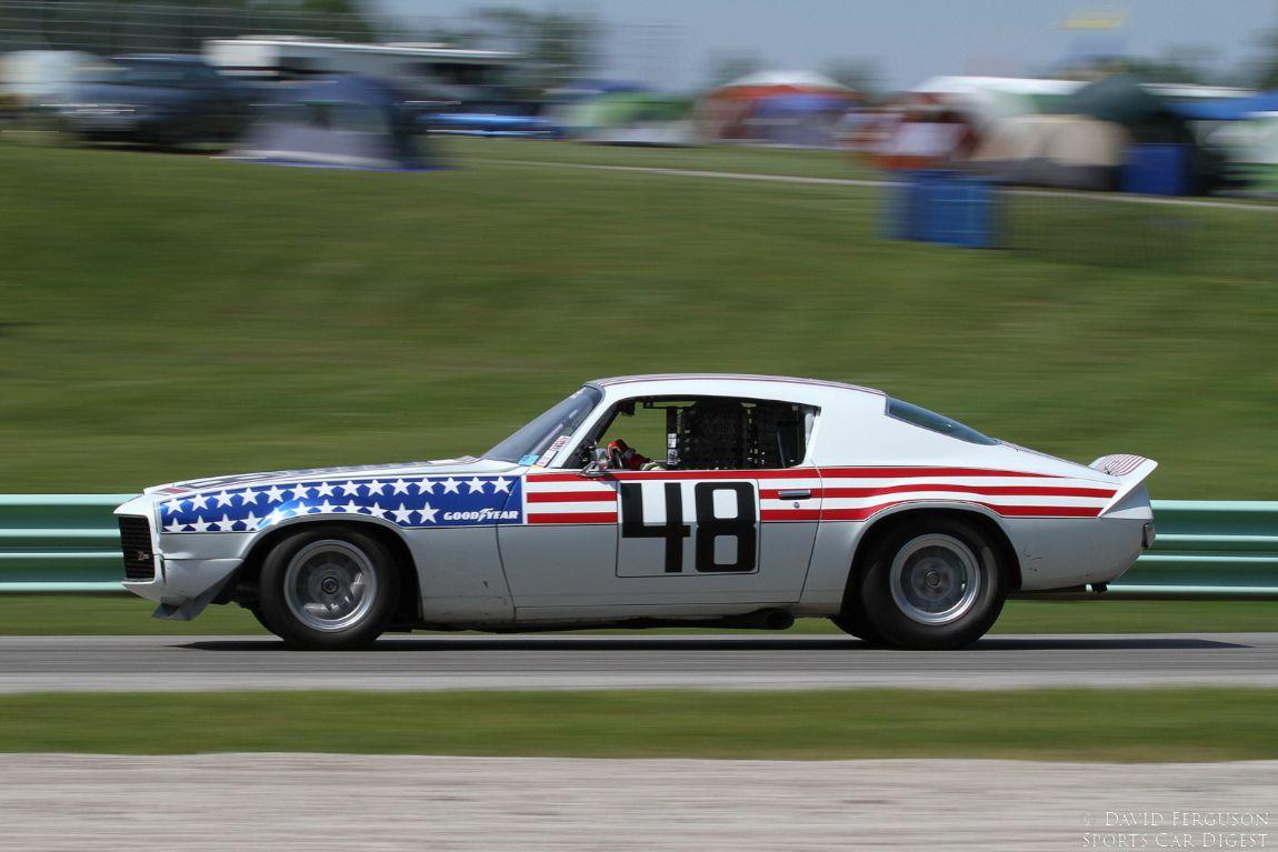 Ed Wheatley, 70 Chevrolet Camaro