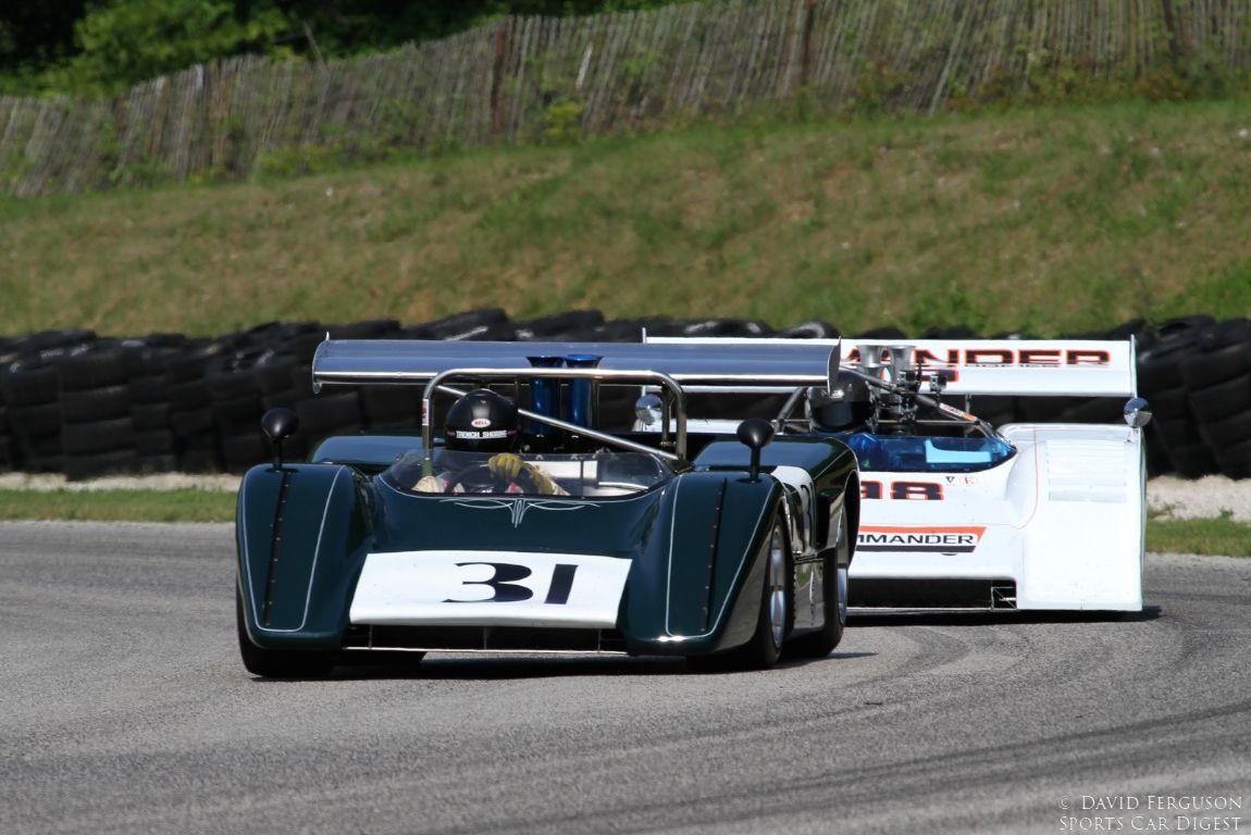 Tom Malloy, 71 McLaren M8E