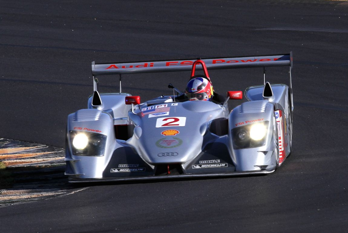 Travis Engen, 05 Audi R8 LMP