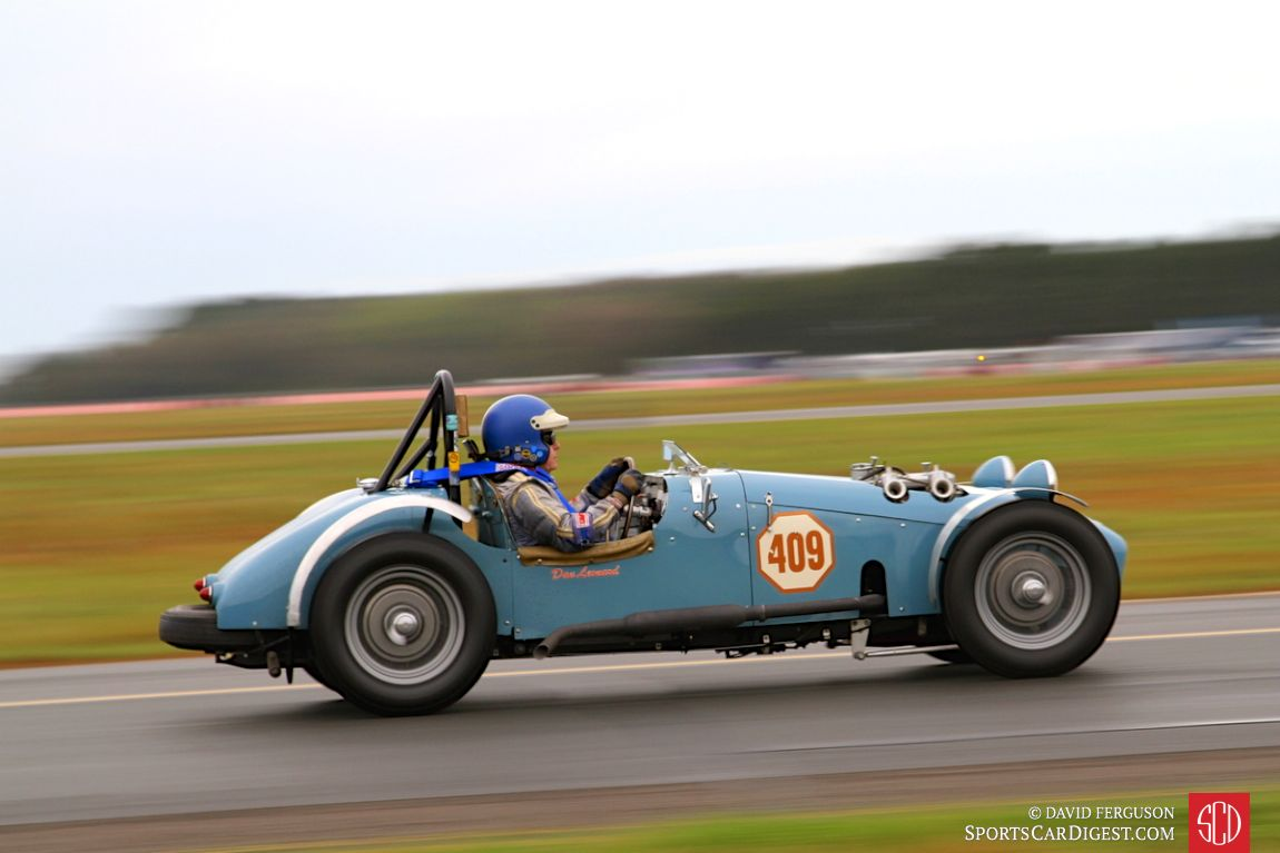 The 1949 MG TC driven by Daniel Leonard