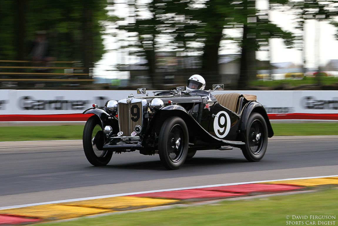 Mark Heathman, 48 MG TC