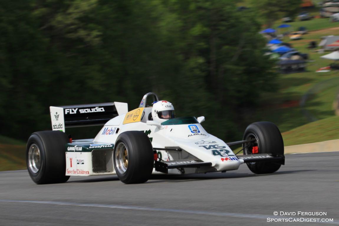 Cal Meeker, 83 Williams FW08