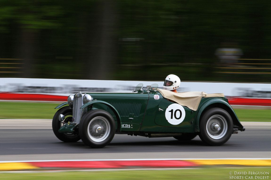 Bill Lane, 47 MG TC