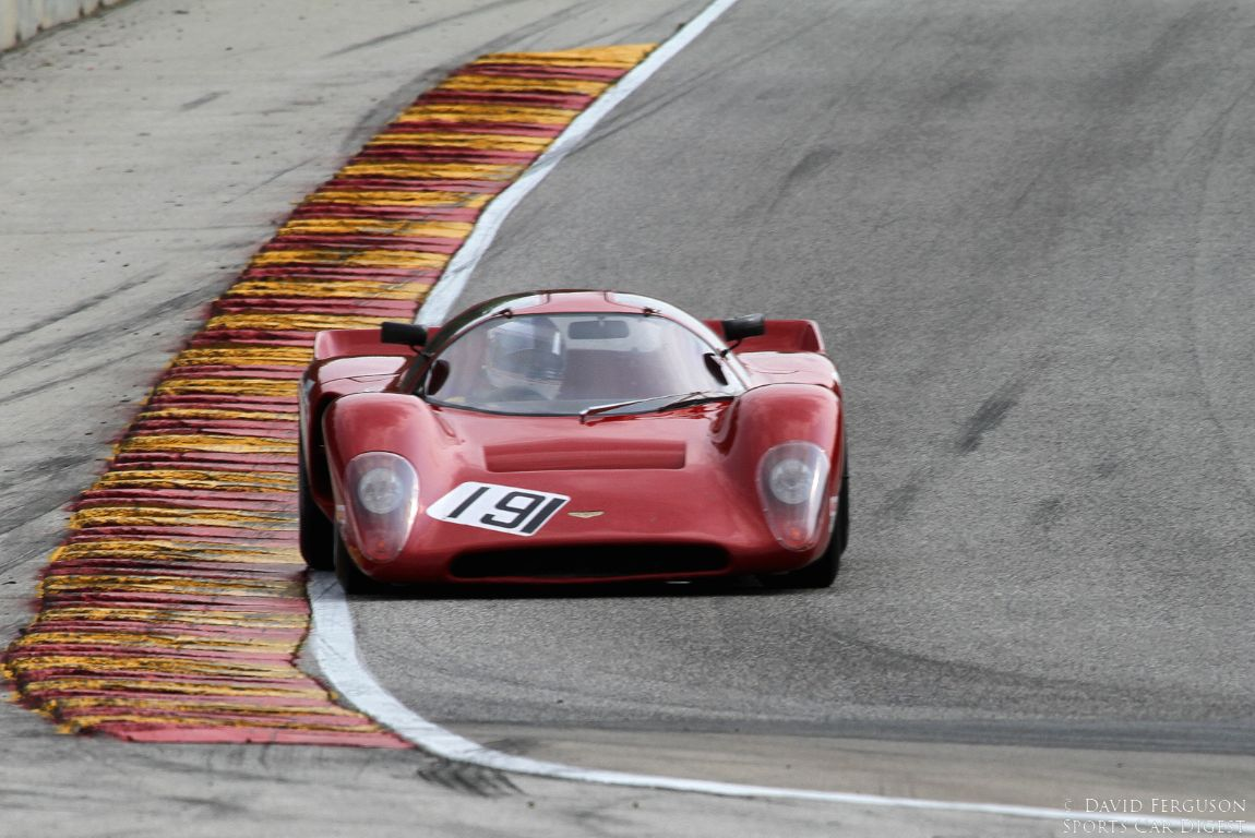 Joe Hish in his very quick 69 Chevron B16.