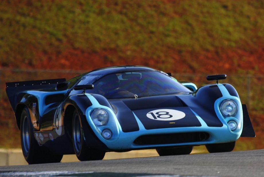 Byron De Foor. 65 Lola T70 Mk1