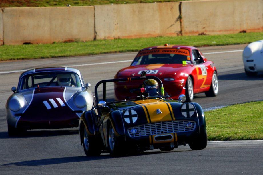 Randy Williams. 59 Triumph TR3