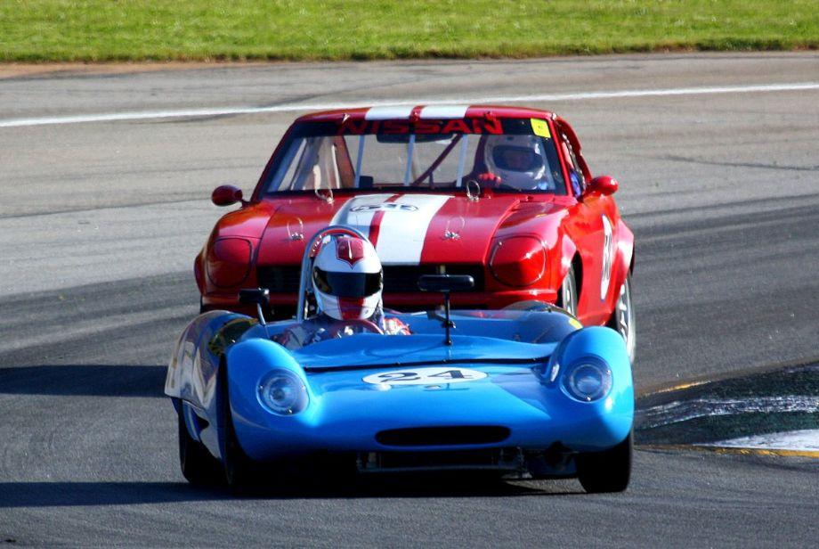 Doc Bundy in the 1964 Lotus 23B