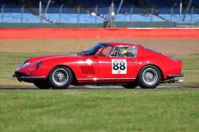 Ian Gijzen Ferrari 275 GTB4. Photo: Simon Wright