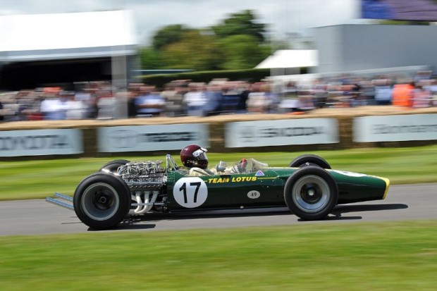 1967 Lotus-Cosworth 49, ex Jimmy Clark