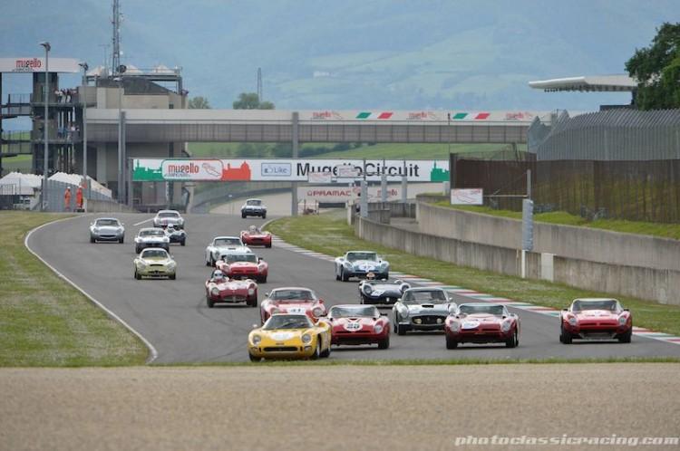 Trofeo Nastro Rosso race at the 2014 Mugello Classic