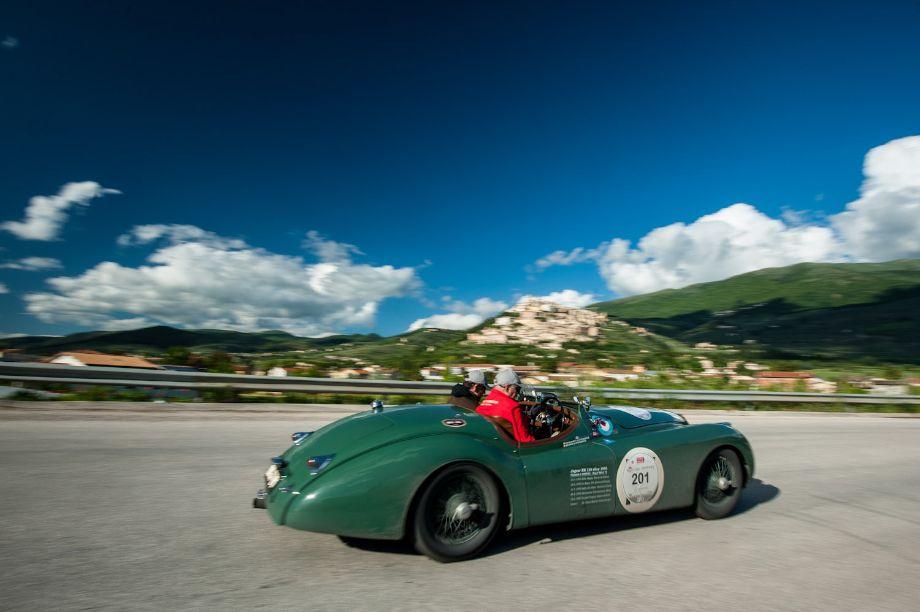 1950 Jaguar XK120 OTS Alloy Competition