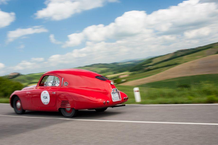 1938 Fiat 508 CS Mille Miglia Berlinetta