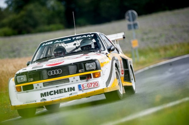 Gruppe B Audi Sport Quattro S1, Walter Rohrl