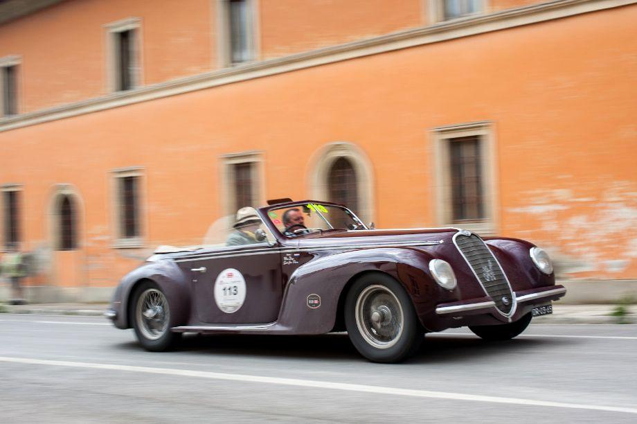 1940 Alfa Romeo 6C 2500 Super Sport Cabriolet