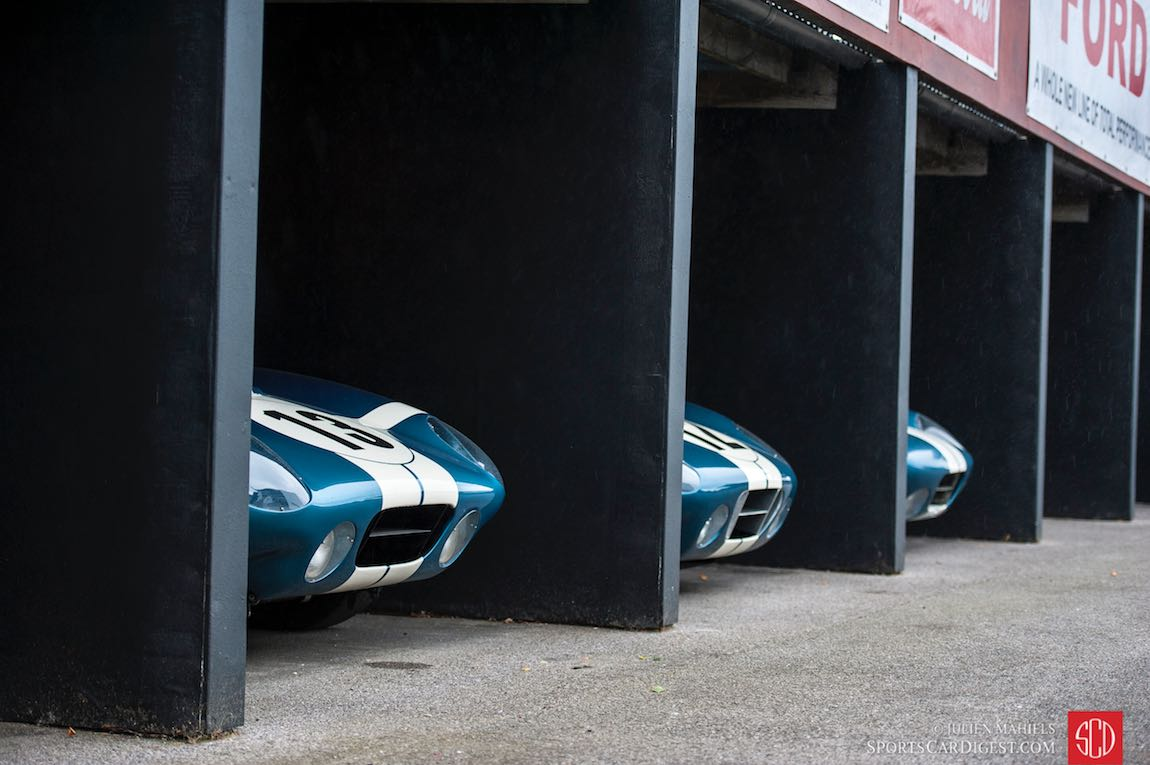 Shelby Daytona Cobra Coupe paddock