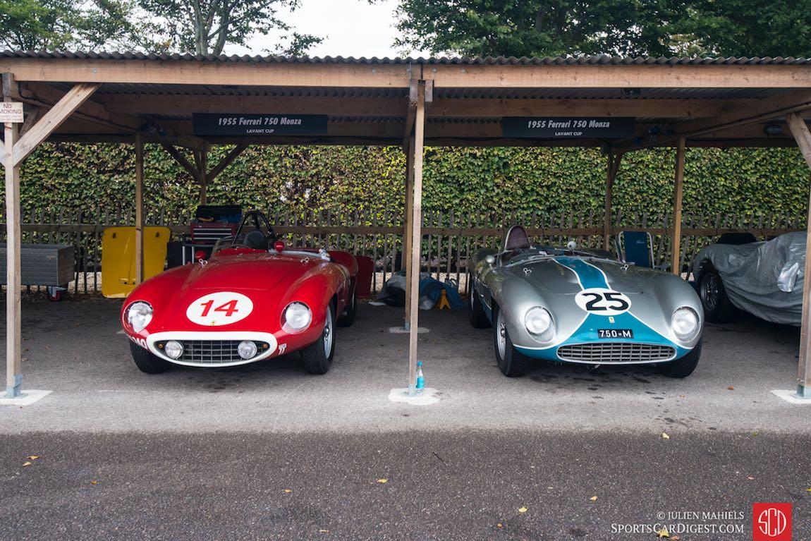 Pair of 1955 Ferrari 750 Monzas