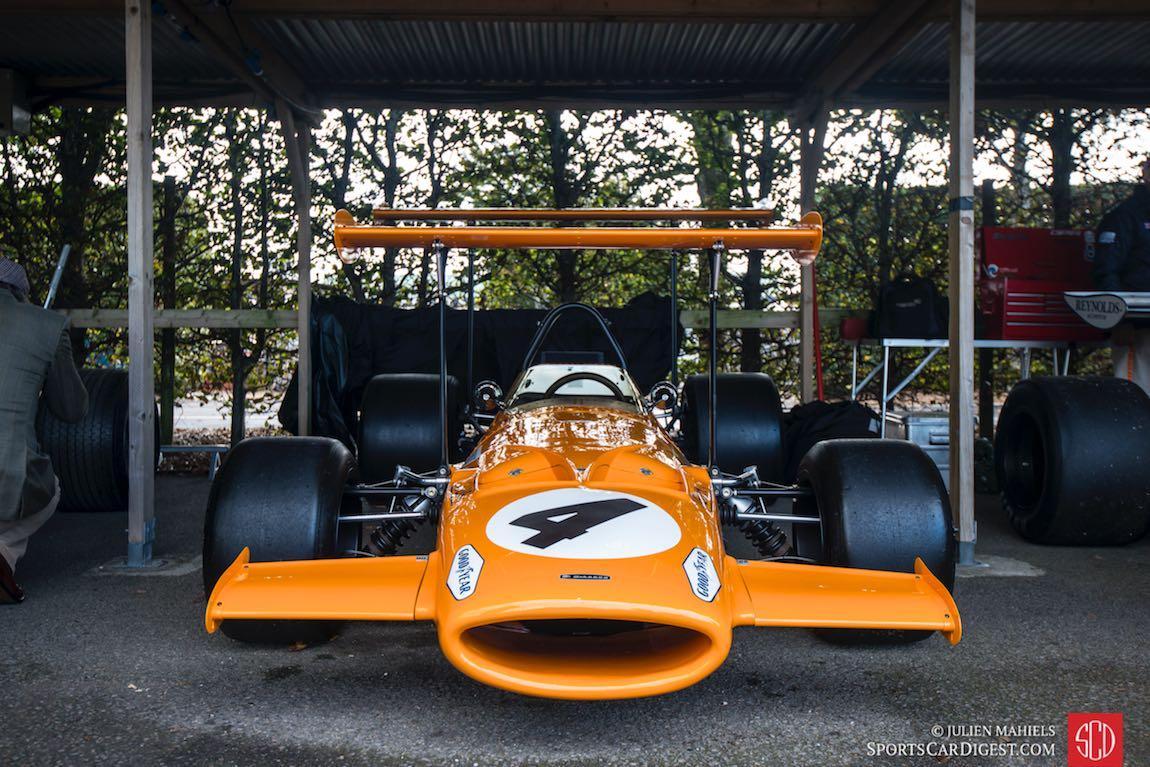 Bruce McLaren Tribute paddock