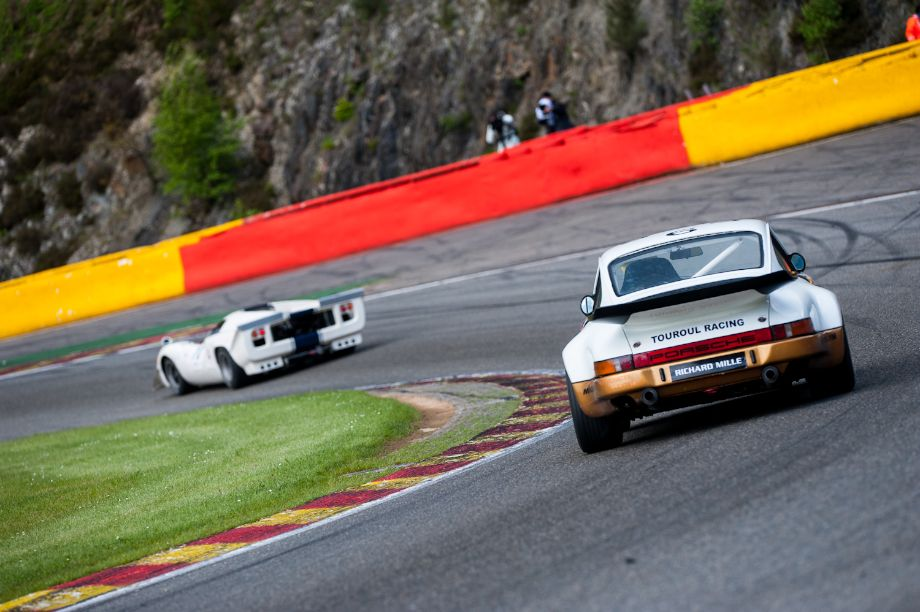 1974 Porsche 911 RSR 3.0 and Lola T70 Mk3B