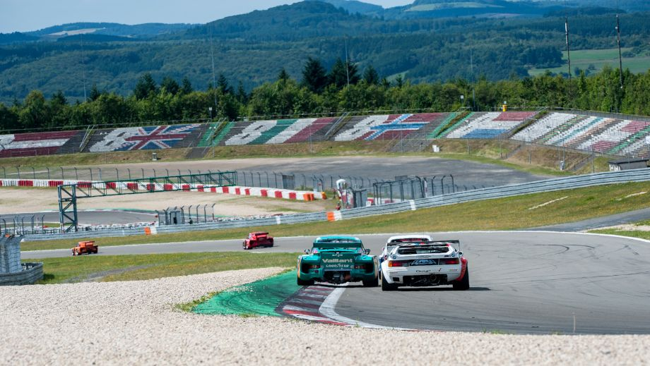 BMW M1 Procar and Ford Capri RS among the many Porsche 935 entrants