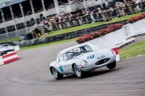 Jaguar E-Type at Goodwood