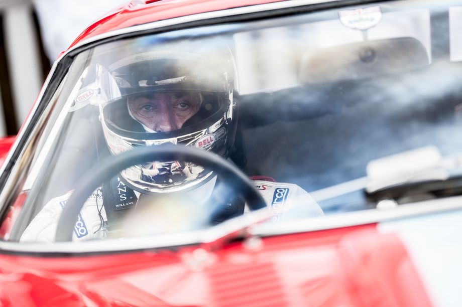 Jean Alesi - Behind the Scenes at 2013 Goodwood Revival
