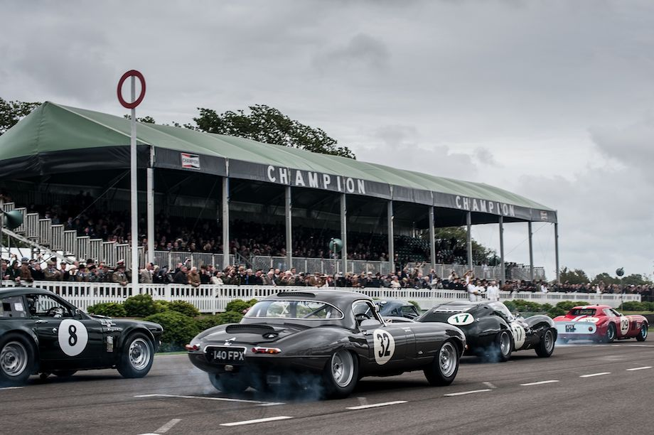 Start of the RAC Tourist Trophy
