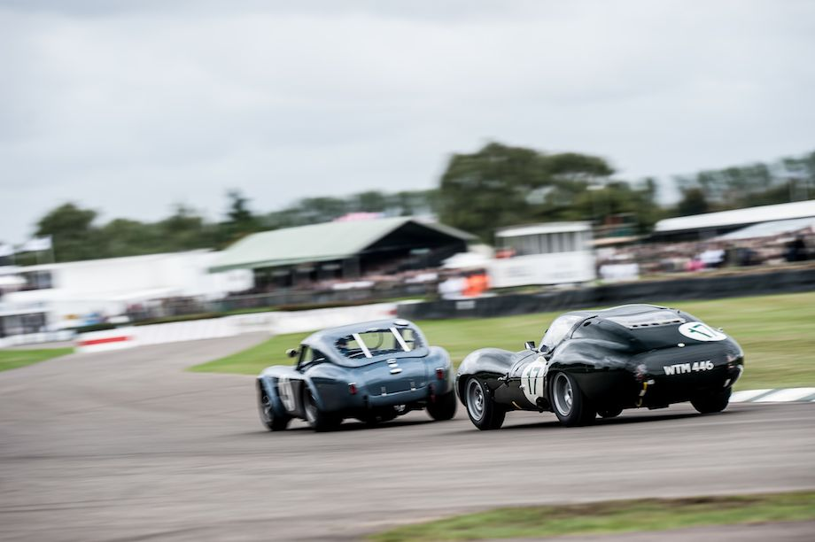 AC Cobra and Lister Jaguar Coupe