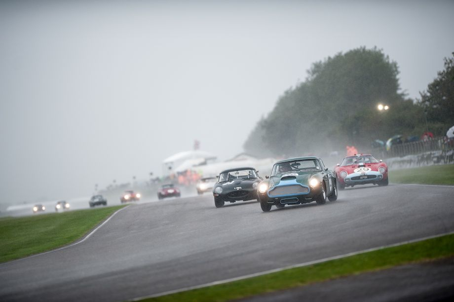 Aston Martin DB4GT, Jaguar E-Type and Ferrari 250 GTO/64