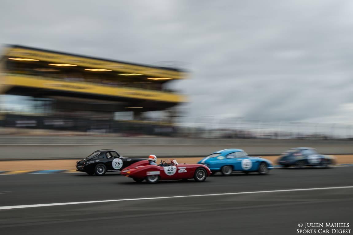 1961 Austin-Healey Sprite, 1957 OSCA 750S, 1958 DB HBR5 and 1958 Porsche 356A