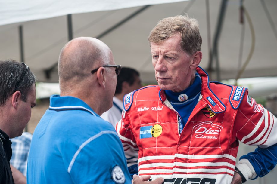 Rally great Walter Rohrl